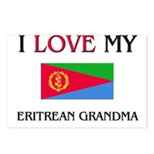 I Love My Eritrean Grandma Postcards (Package of 8