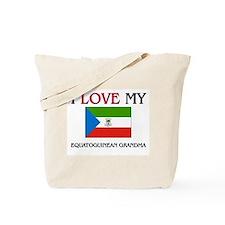 I Love My Equatoguinean Grandma Tote Bag