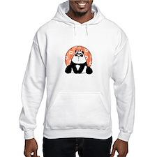 girl flower panda Hoodie