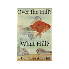 Over the Hill Rectangle Magnet (100 pack)