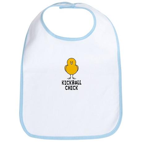 Kickball Chick Bib