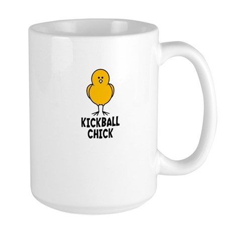 Kickball Chick Large Mug