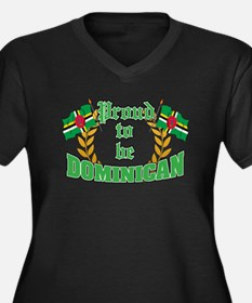 Proud to be Dominican Women's Plus Size V-Neck Dar