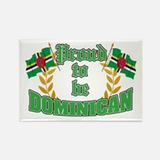 Proud to be Dominican Rectangle Magnet