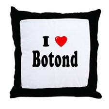 BOTOND Throw Pillow