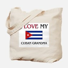 I Love My Cuban Grandma Tote Bag