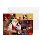 Australian shepherd christmas Greeting Cards (20 Pack)