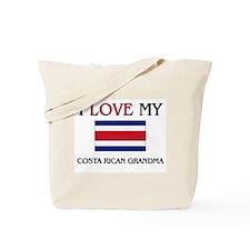 I Love My Costa Rican Grandma Tote Bag