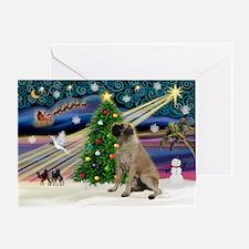 XMagic-Bull Mastiff Greeting Card
