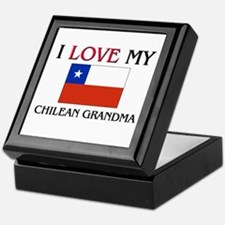 I Love My Chilean Grandma Keepsake Box