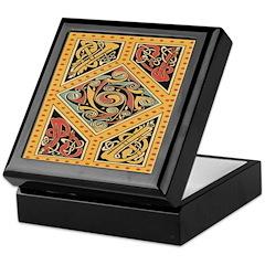Celtic Gold Keepsake Box