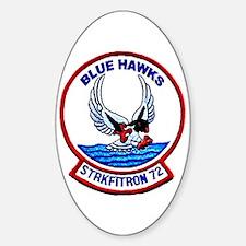 VFA 72 Blue Hawks Oval Decal