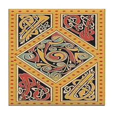 Celtic Gold Tile Coaster