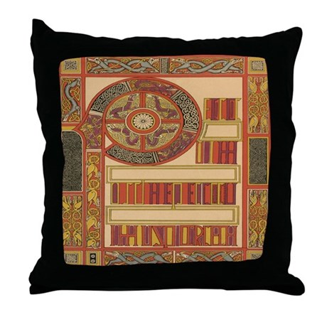 Celtic Illumination Throw Pillow