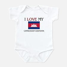 I Love My Cambodian Grandma Infant Bodysuit