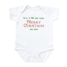 Cute Politically incorrect Infant Bodysuit