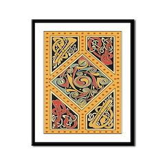 Celtic Gold Framed Print
