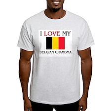 I Love My Belgian Grandma T-Shirt