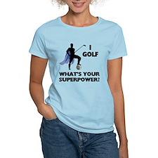 Golf Superhero T-Shirt
