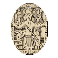 Ancient Celt Oval Ornament