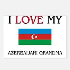 I Love My Azerbaijani Grandma Postcards (Package o