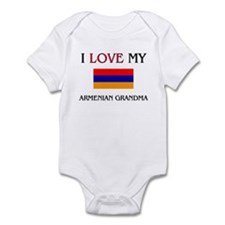 I Love My Armenian Grandma Infant Bodysuit
