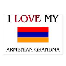 I Love My Armenian Grandma Postcards (Package of 8
