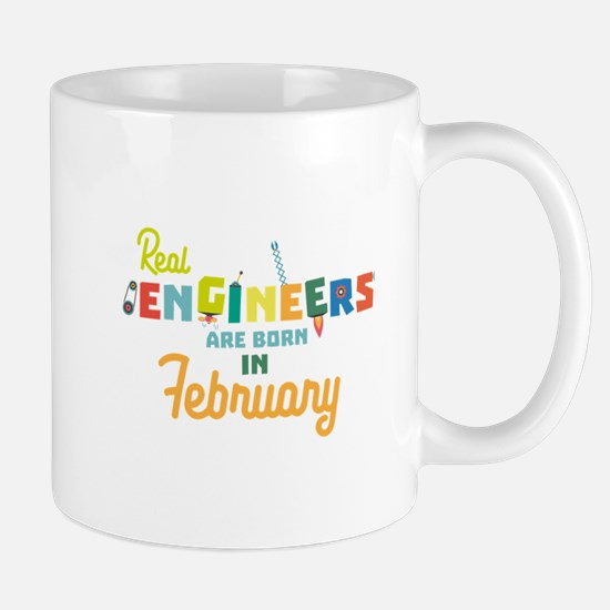 Engineers are born in February Cltl5 Mugs