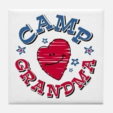 Camp Grandma Tile Coaster