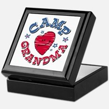 Camp Grandma Keepsake Box
