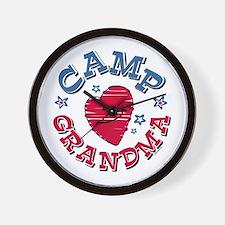 Camp Grandma Wall Clock