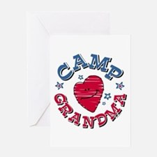 Camp Grandma Greeting Card