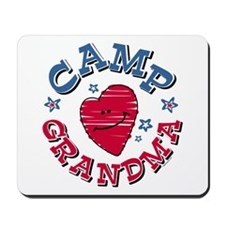 Camp Grandma Mousepad