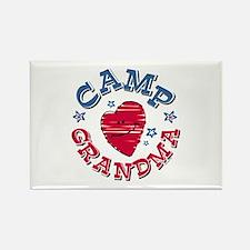 Camp Grandma Rectangle Magnet