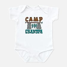 Camp Grandpa Infant Bodysuit