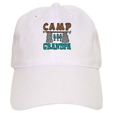 Camp Grandpa Baseball Cap