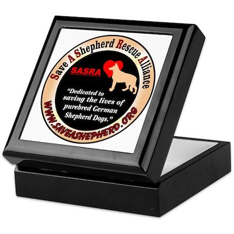 SASRA Logo Keepsake Box