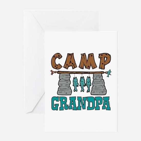 Camp Grandpa Greeting Card