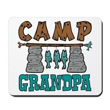 Camp Grandpa Mousepad