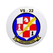 VS 22 Checkmates Ornament (Round)