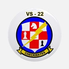 VS 22 Checkmates Ornament (Round)