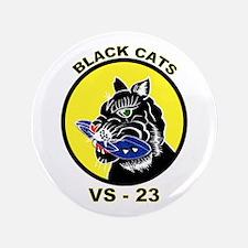 """VS 23 Black Cats 3.5"""" Button"""