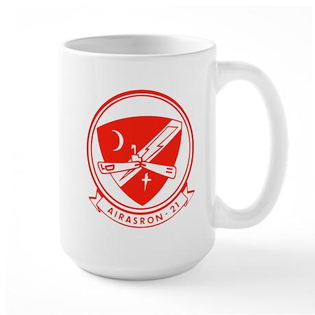 VS 21 Fighting Red Tails Large Mug