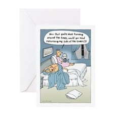 """""""The Marriage Bed"""" Greeting Card"""