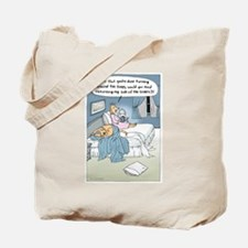 """""""The Marriage Bed"""" Tote Bag"""
