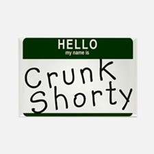 Crunk Shorty Rectangle Magnet
