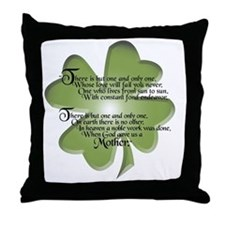 Irish Blessing - Mothers - Throw Pillow
