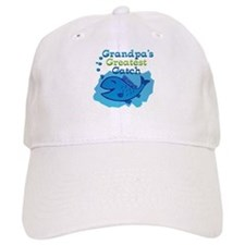 Grandpa's Greatest Catch Baseball Cap