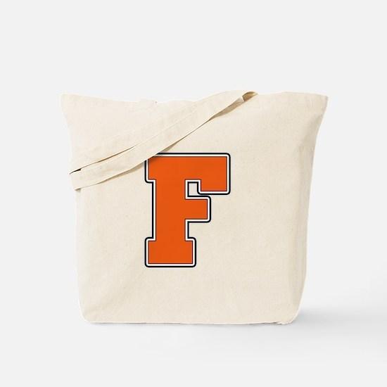 Fenton Block F Tote Bag