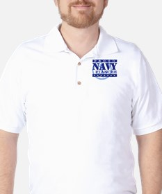 Proud Navy Fiancee T-Shirt